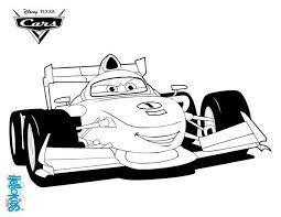 Coloring Pages Lightning Mcqueen Cars 2