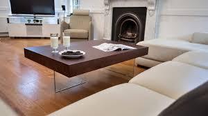 decorative contemporary wood coffee table 30 aria large espresso dark 4