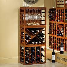 Wine Racks For Kitchen Cabinets Kitchen Wooden Stemware Rack Cabinet With Wine Rack Stemware Rack