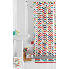 colorful fabric shower curtains. 35 Pictures Of Amazing Peach Colored Shower Curtain April 2018 Colorful Fabric Curtains H