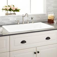 kitchen surprising inspiration white drop in kitchen sink 11 from white drop in kitchen sink