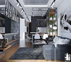 Monochrome Living Room Decorating Monochromatic Living Room Colors Idea Roohome Designs Plans