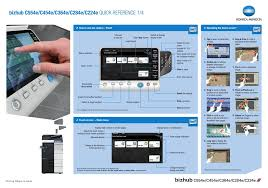 Details about konica minolta c554e. Konica Minolta Bizhub C554e Quick Reference Pdf Download Manualslib