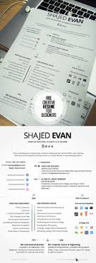 Resume Template Picture 24 Free Creative Resume Templates With Cover Letter Freebies 23