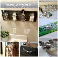 jar apothecary jar organizer decor