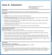 Sample Resume Mechanical Engineer resume Sample Resume Mechanical Engineer For Experienced 46