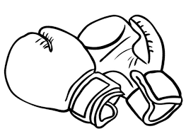 Boxing Gloves Coloring Pages Getcoloringpagescom