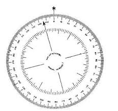 Compass Degrees Chart Magnetic Compass Error