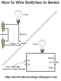 2 bulb lamp wiring diagram 17 best ideas about wire switch electrical wiring how to wire switches in series basic home