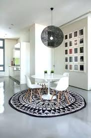 square rug under round dining table dining room round table square rug coffee shape square rug