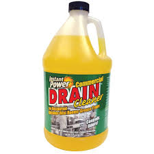 instant power commercial drain cleaner