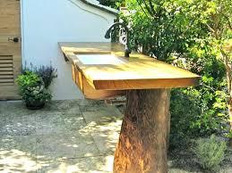 outdoor concrete garden sink station postalgia
