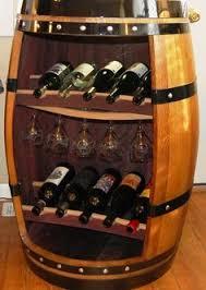 Image Whiskey Wine Barrel Cabinet Pinterest Best Wine Barrel Furniture Images Wine Barrel Furniture