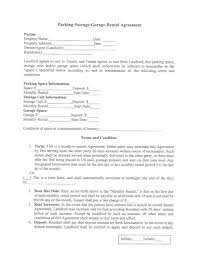 A simple solution to earn some money too! Free 5 Garage Rental Agreement Examples Templates Download Now Examples