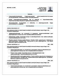 Modern Simple Resume Template Modern Resume Template Simple Resume Templates 75 Examples Free