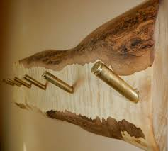 items similar to curly maple coat rack rustic wall mount brass bullet casings used for the 6 coat pegs beautful piece of maple on etsy brass coat hook pieces