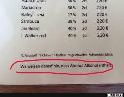 Wie Weisen Darauf Hin Dass Alkohol Alkohol Enthält Lustige