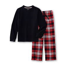 Teen boys flannel pj pants