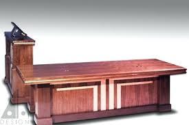 art deco office desk. desk art deco office atlanta custom furniture design lilburn walnut height adjustable executive c