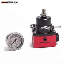 Jdm <b>Universal 0 140 PSI Adjustable</b> Fuel Pressure Regulator FPR ...