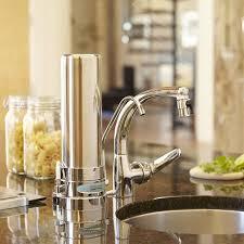 ceramic countertop water filter system single cartridge