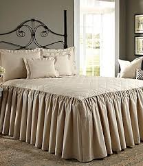 Quilts & Coverlets | Dillards & Noble Excellence Villa Quilted Ruffled Bedspread Adamdwight.com
