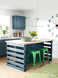 island from wood pallets kitchens and storage how to build a kitchen island from wood pallets better homes gardens diy rolling kitchen island plans