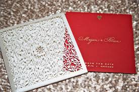 Red Save The Date Cards Invitations More Photos Vibrant Red Save The Dates