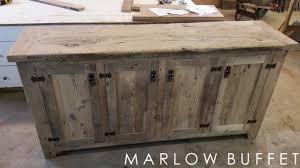 reclaimed wood furniture brampton ontario buffet credenza distressed cabinet rustic o61