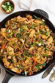 Some ways of making your noodles healthy include using nutritious ingredients, preparing your dishes in a healthier manner, and decreasing your portion size. Stir Fry Noodles Fast Healthy Recipe Wellplated Com
