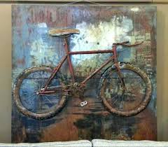 bicycle wall art metal bicycle wall art decor on bike wall decor with basket with bicycle wall art metal bicycle wall art decor ignatianq