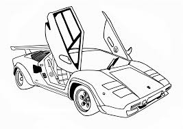 Small Picture Awesome Race Car Coloring Pages Coloring Desig 3668 Unknown