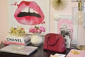 pink office desk. Office Decor, Desk Pink Room, Office, Cute 1