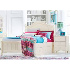 classic ivory 7 piece twin bedroom set summerset