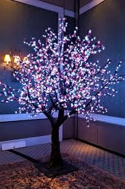Fake Cherry Blossom Tree With Lights Our Led Cherry Blossom Trees Are Excellent To Brighten Up
