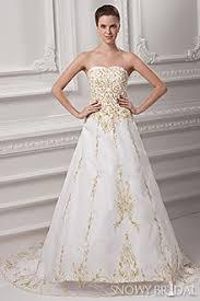 gold wedding dresses and ivory gold wedding dresses snowybridal
