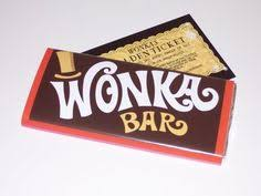real wonka chocolate bar.  Real Willy Wonka Chocolate Bars Available In Store Today X  Wwwsweetgreetingsshildoncouk In Real Chocolate Bar E