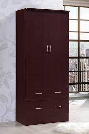 tall armoire wardrobe closet storage cabinet bedroom furniture clothes organizer