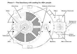 Church Blueprints Design Church Plan 133 Lth Steel Structures