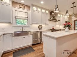 pure white quartzite countertops after 1
