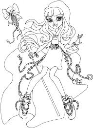 Small Picture 135 best Monster High images on Pinterest Monster high Coloring