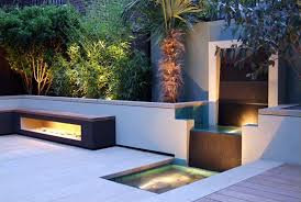 led patio lighting ideas. amazing modern garden design with led outdoor lighting ideas and elegant waterfalls led patio s
