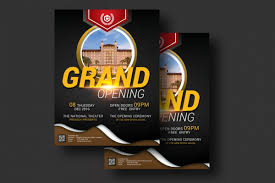 Grand Opening Flyer Awesome 48 Grand Opening Flyers PSD Vector EPS JPG Download FreeCreatives