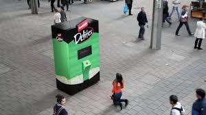 Fantastic Delites Vending Machine Delectable Interactive Vending Machine Reveals How Low People Will Go For Free