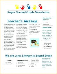 Free Teacher Newsletter Templates September Newsletter Template Lovely Elementary Classroom Newsletter