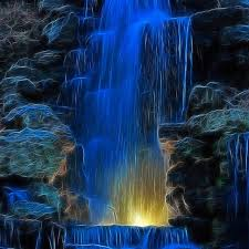 3D Waterfall HD Wallpaper and Backgrounds