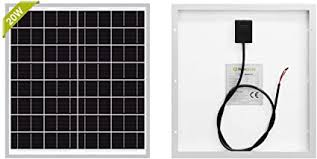 Newpowa 20W(Watt) Solar Panel ... - Amazon.com