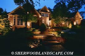 residential outdoor landscape lighting