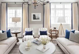 East Coast House with Blue and White Coastal Interiors Home