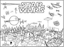 Small Picture Star Wars Coloring Pages Free Printable Lets party Pinterest